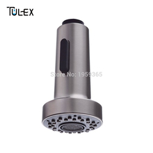 Buy Kitchen Faucet Spout G1/2 IPS connection Two Function ABS Pull-Out Spray Shower Head Aerator Replacement Part Brushed Nickel for $12.90 in AliExpress store