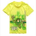 2016 Anime Toy Story Buzz Lightyear Print T Shirt For Children Top Summer T Shirt Kid