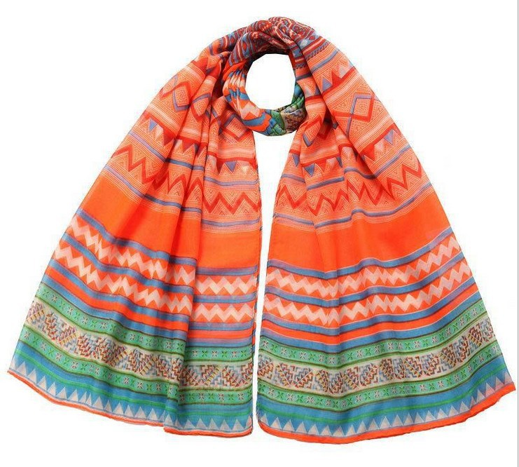 2014 Famous Hot Selling Newest Beach Shawl Beach Sarong Aztec Scarf Fashion Polyester Aztec Tribal Scarf(China (Mainland))