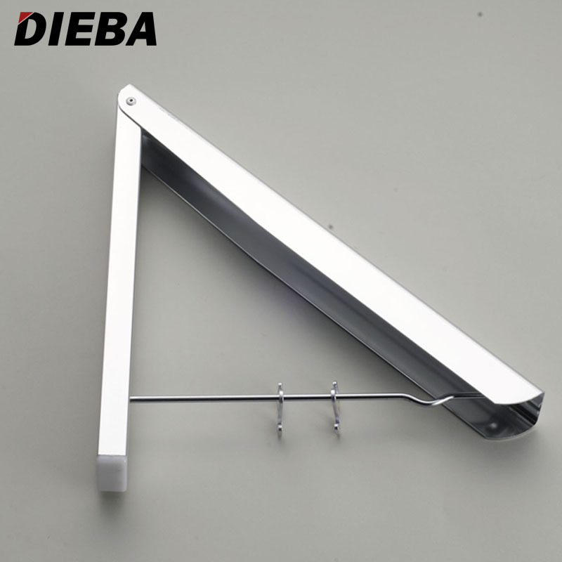 New Wall Mounted Space Aluminum Clothes Drying Hanger