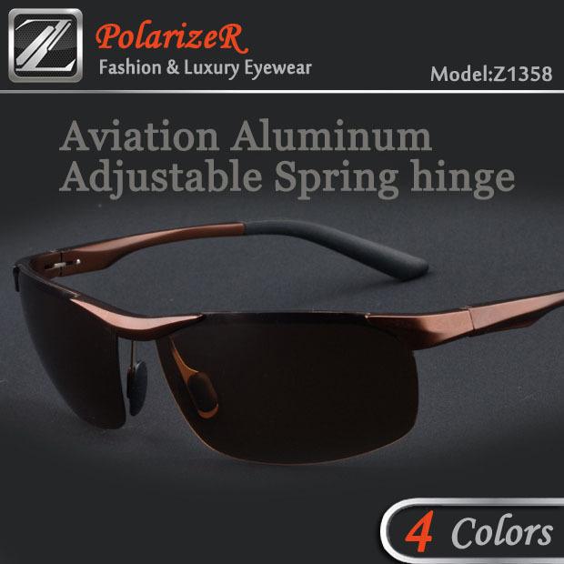 2015 sports Polarized polariod lenses points men sun glass polarizado lentes gafas culos de sol masculino okL for polic Z8558(China (Mainland))