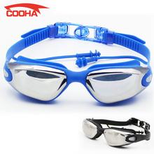 2016 Professional Silicone Waterproof Swim Goggles Anti-fog UV PC Plating Swimming Glasses for Men Women Water Sports Eyewear