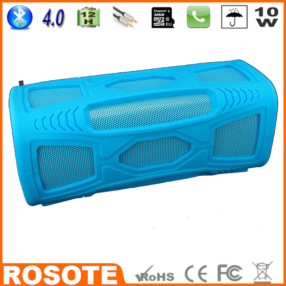 Free shipping 2015 waterproof for shower 10W BT4.0 super bass HI-FI sound driver Bluetooth speaker(China (Mainland))