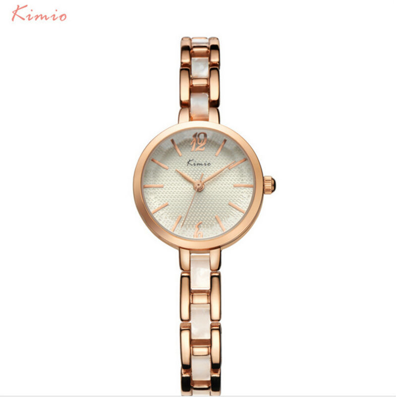 Popular Brand WWOOR Women Quartz Bracelet Watch Women Dress Watches Ladies
