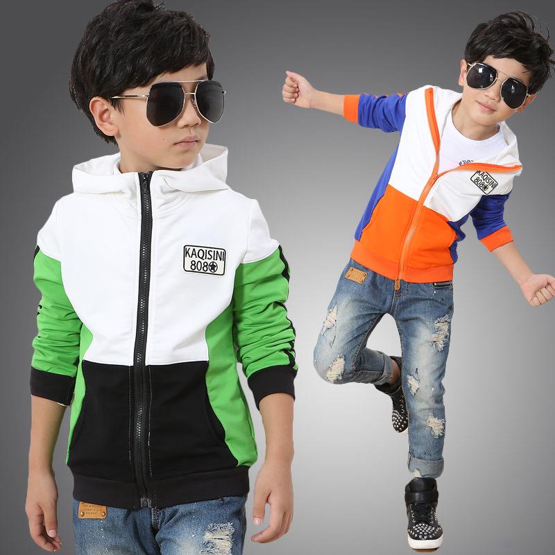 Free shipping M Tong Chunqiu cardigan Sportswear kids jacket  boy clothes<br><br>Aliexpress