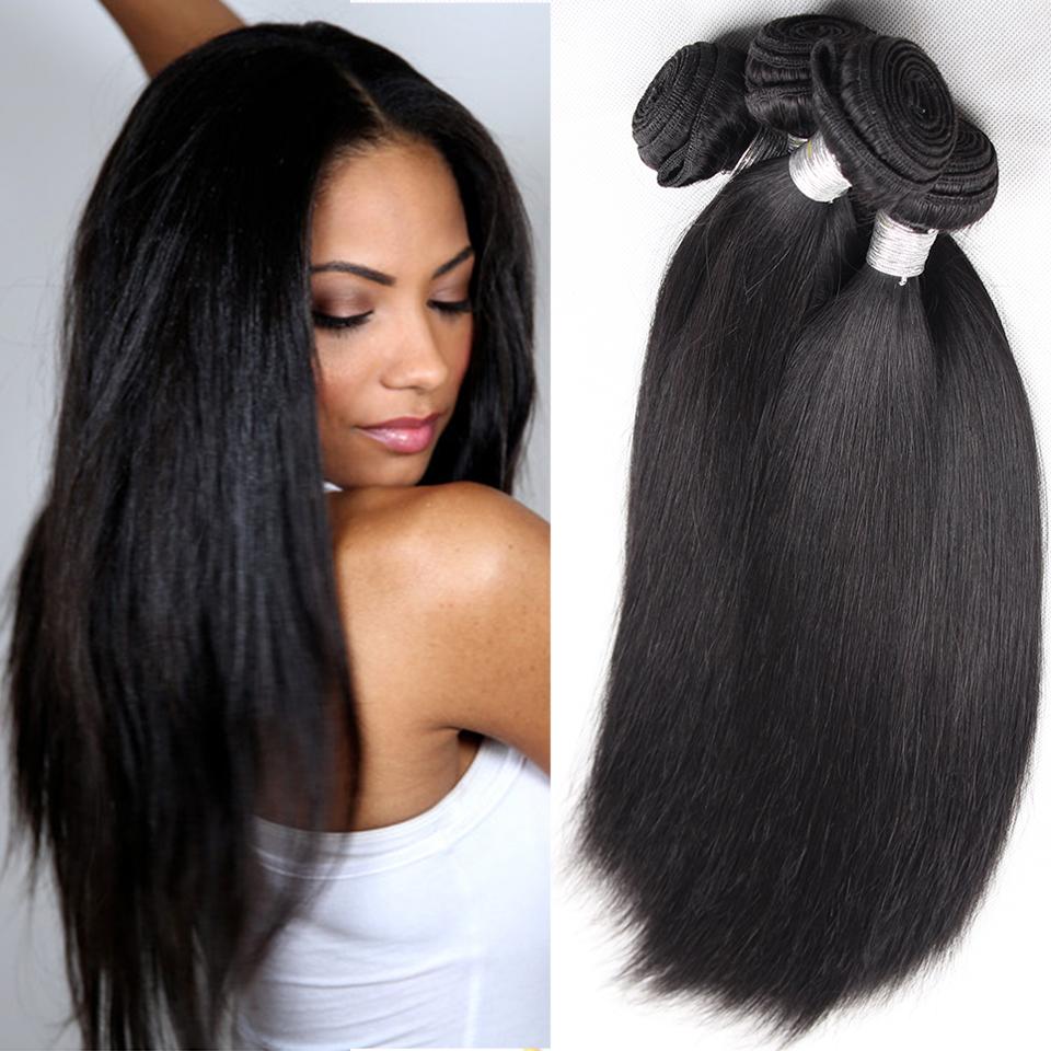 Brazilian Virgin Hair Straight 3 Bundles Rosa Hair Products Unprocessed Virgin Brazilian Straight Hair 6A Human Hair Weave