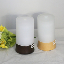 Glass cover protable essential oil aroma diffuser humifier ultrasonic electric mist maker(China (Mainland))