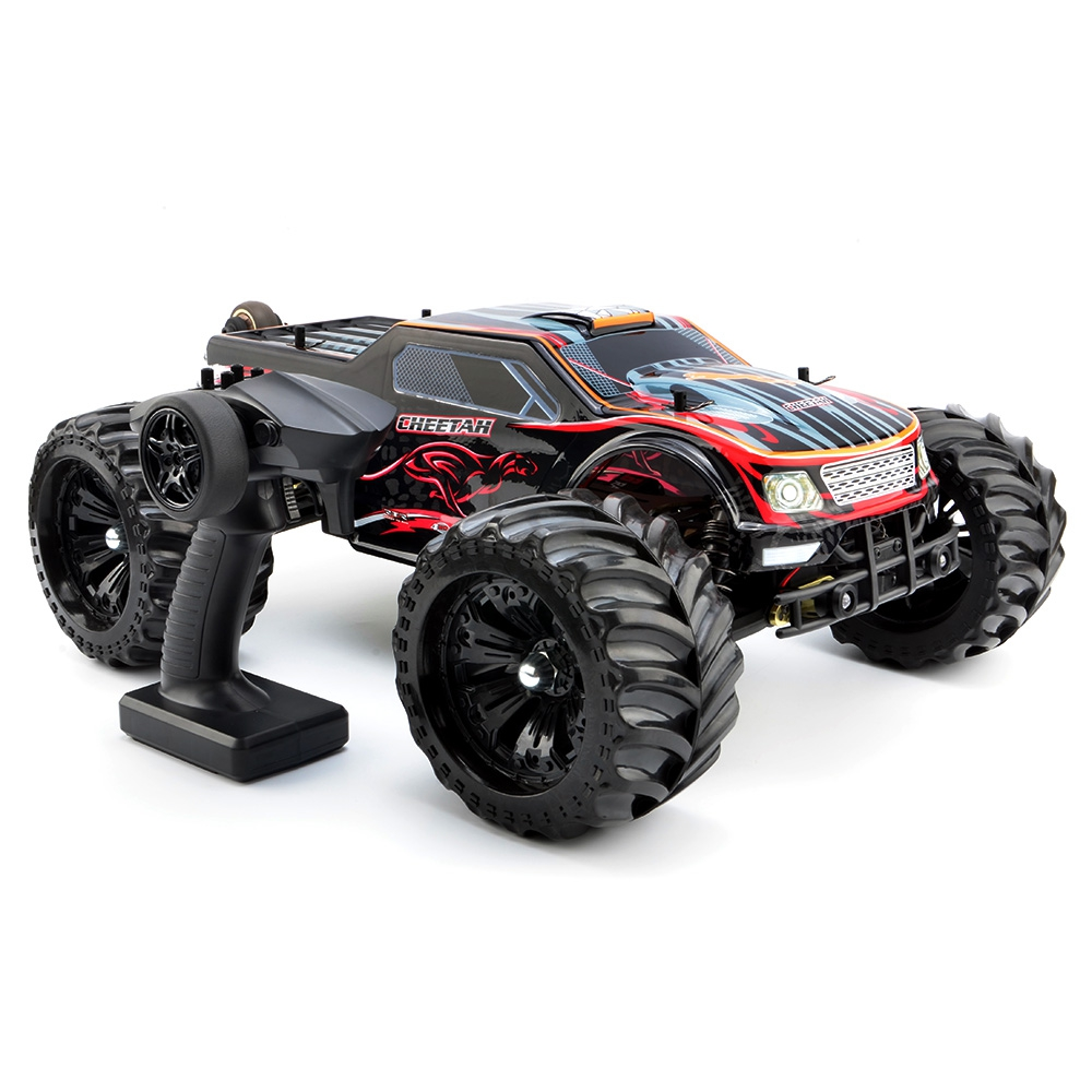 JLB RC Cars 2.4G Cheetah 4WD 1 / 10 80km / h High Speed Buggy RC RTR Car 4 Wheel Drive Design Brushless Motor & Wltoys A979/A959
