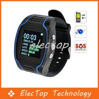 "1.5""LCD Quad Band GPS GSM GPRS Cellphone Wrist Watch 10pcs/lot Wholesale"