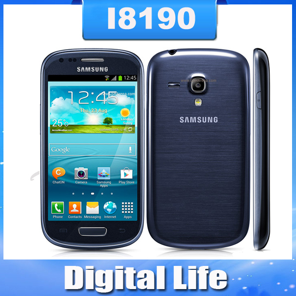 S III mini Original Samsung I8190 Galaxy SIII S3 mini  Android OS Touch Screen GPS 3G WIFI 5MP Mobile Phone Refurbished(China (Mainland))