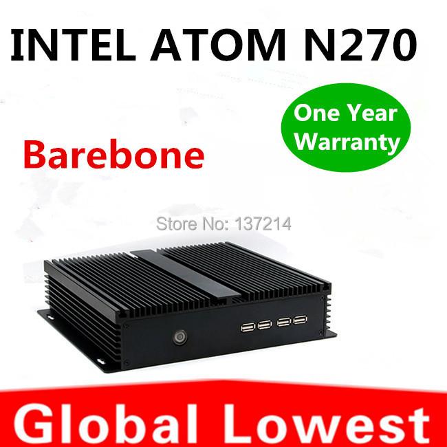 2014 New Thin Client Computer, Mini PC, Intel Atom N270 CPU,  Windows XP, Fanless