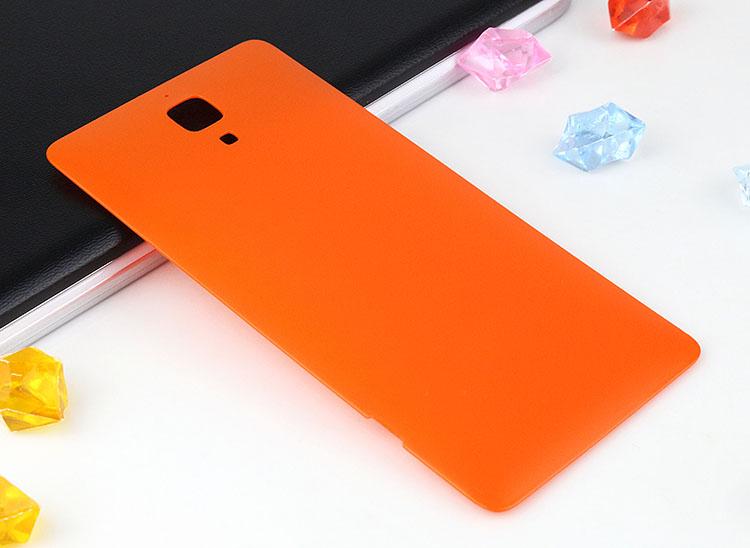 For Xiaomi Mi4 M4 Mi 4 M 4 Back Battery door Cover case for Xiaomi Mi4 plastic Case Housing Door Replacement Spare Parts