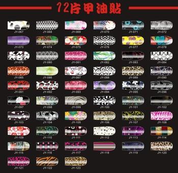 Salon style Nail polish Strips Nail wraps patch print Nail stickers