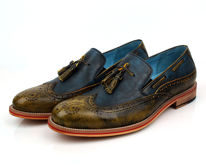 colored dress shoes for images