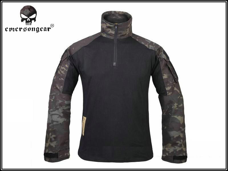 Hunting Airsoft clothes Emerson Tactical G3 shirt Multicam Black Combat Military tshirt EM9256 MCBK