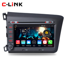 """Quad Core 1.6GHz 8"""" 1024*600 Pix Android 4.4 Car PC Video Player GPS For Honda CIVIC 2012 With Radio DVD WIFI TV Bluetooth OBD2(China (Mainland))"""