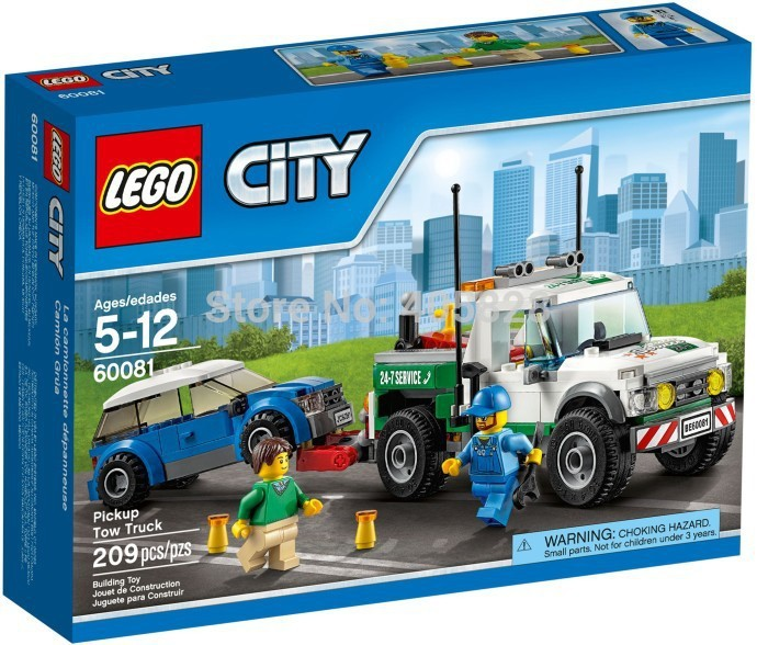 2015 hot sale New Lego City Series 60081 truck trailer LEGO CITY assembling toy building blocks fun(China (Mainland))