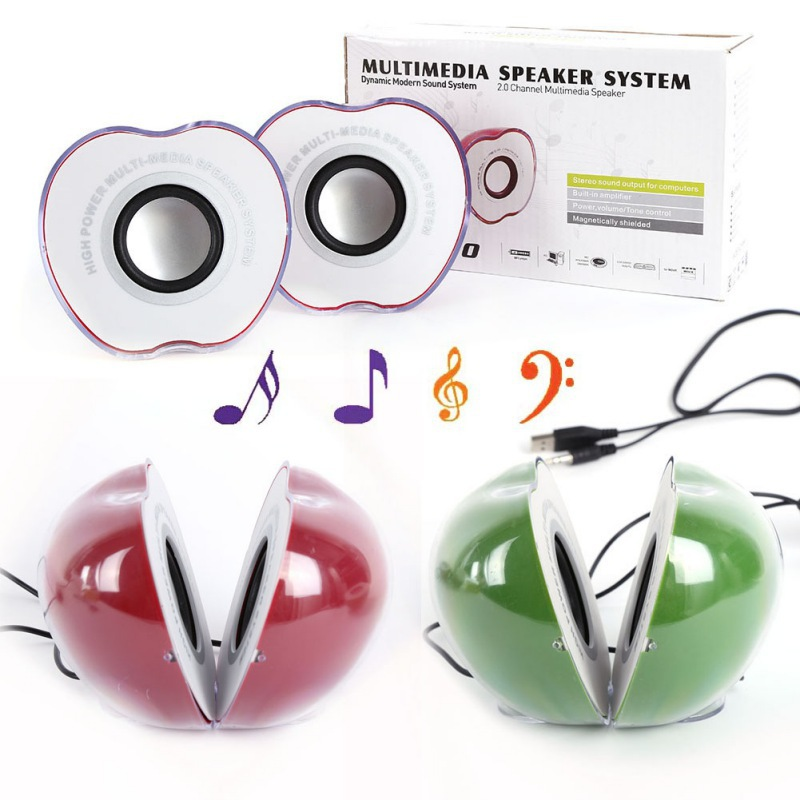 USB Portable Laptop Desktop Stereo Mini Speaker Music Loudspeaker Hot Sale(China (Mainland))