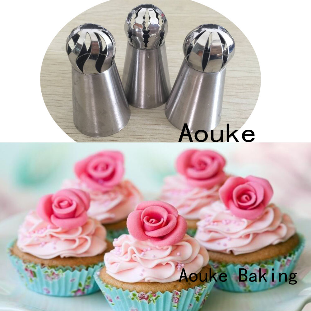 Cake Decorating Rose Nozzle : Online Buy Wholesale russian roses from China russian ...
