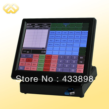 POS1201 POS Terminal Cheap Restaurant POS Machine All In One POS System With POS Software(China (Mainland))
