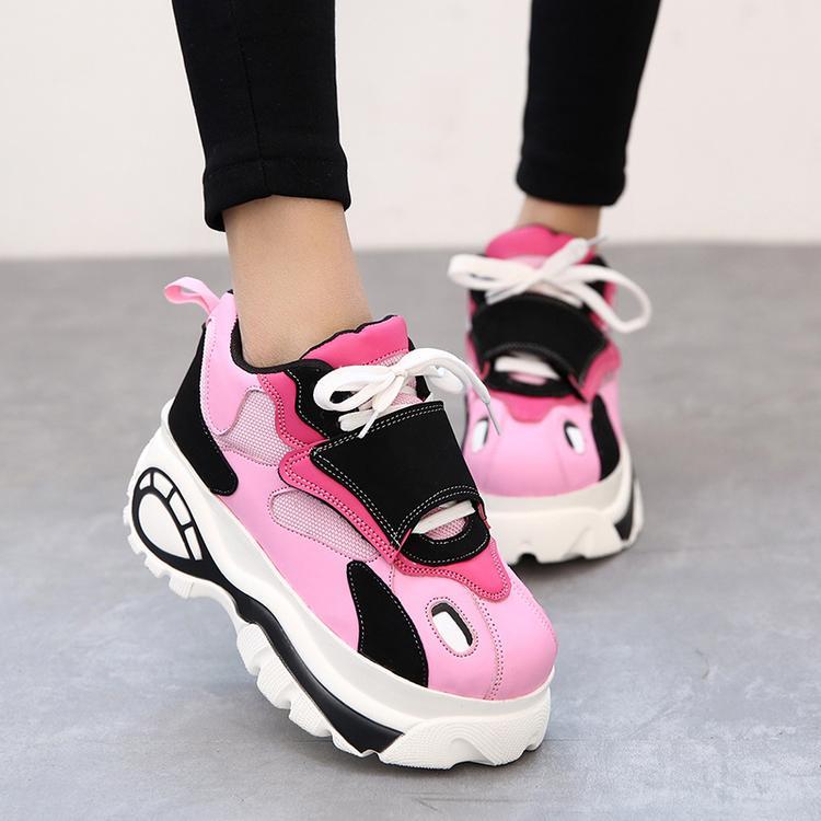 Popular 2015NewwinterKoreanstyleFashionSneakersWomensportsPlusvelvet