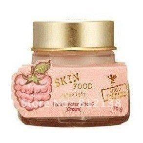 Free Shipping  Wholesale 3PCS/LOT 100% Quality Guarantee skin food facial water vita-C Face Cream 50ml