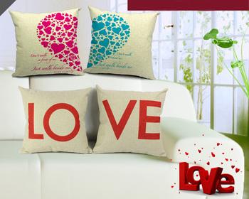 Бесплатная доставка CTW председатель диван мода г-н г правой любовник пара забавный в форме сердца любовь подушка симпатичные подушка
