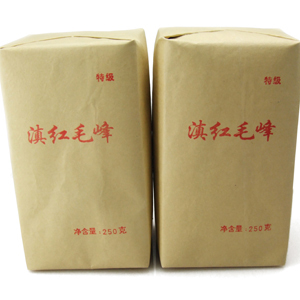 Dian hong tea large congou black tea premium black tea red 250g maofeng
