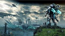 xenoblade chronicles x game 2015 3 Sizes Silk Fabric Canvas Poster Print