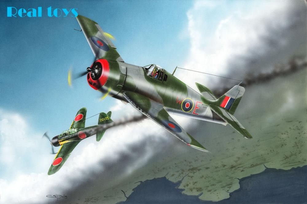 Hobby Boss Model Kit - British Fleet Air Arm Hellcat MkI Plane - 1:48 - 80360(China (Mainland))