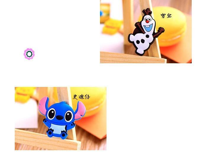 1Pcs New Cute Cartoon Anime Action Figure Famous Characters Fridge Magnet Home Decor Refrigerator Sticker H1096