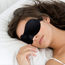 1Pcs 3D Sleep Mask Natural Sleeping Eye Mask Eyeshade Cover Shade Eye Patch Women Men Soft Portable Blindfold Travel Eyepatch(China (Mainland))
