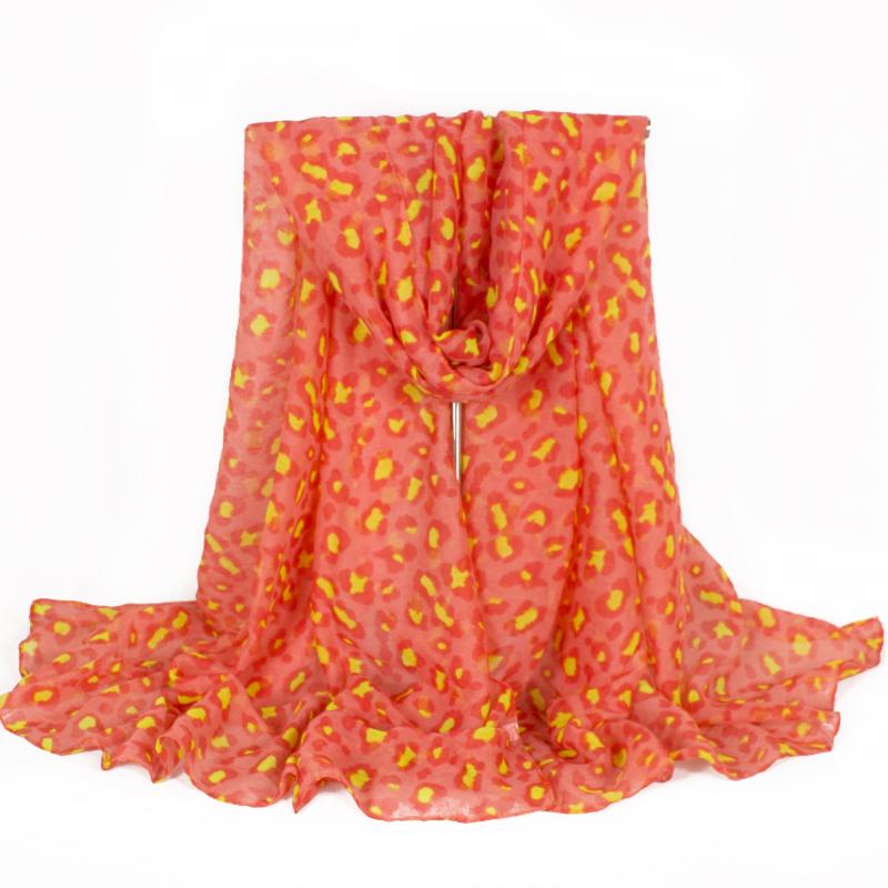 2015 Brand Women Scarves Polyester Scarf Leopard Print New Designer Wonderful Scarf Women Leopard Scarf 180*50cm(China (Mainland))