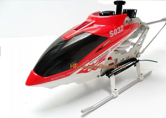 14IN Large Size S032 Gyro 3CH Radio Remote Control RC Airplane Gyro R/C Aircraft Super Christmas Gift For Kids