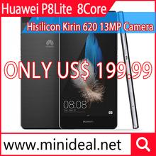 Huawei Ascend P8 Lite P8Lite Dual 4G FDD LTE SmartPhone Hisilicon Kirin 620 Octa Core 2GB/16GB 5.0″ 1280×720 With 13MP Camera