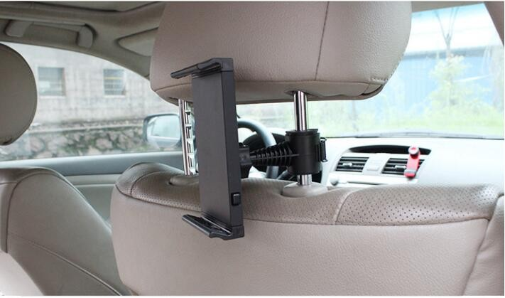 B2CASE 4-11″ Mobile Phone Tablets Car Use Bracket Soporte Movil Back Rear Seat Clip Stand Support for iPad Cellphone Accessories