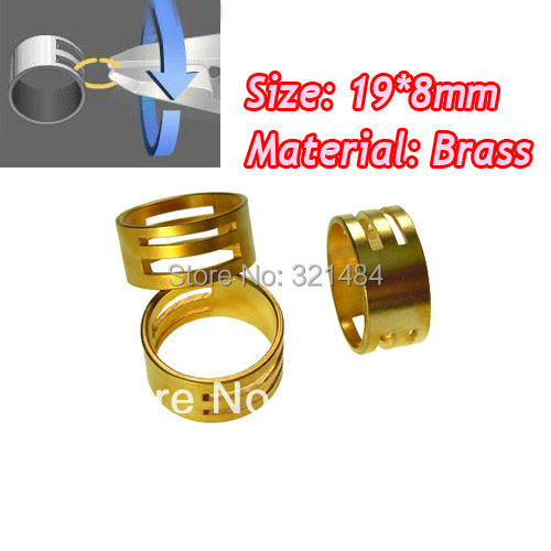Big discount 100pcs Brass Jewelry Bead Making Finding Jump Ring Opening Closing Finger Tools Ring Open Accessories<br><br>Aliexpress