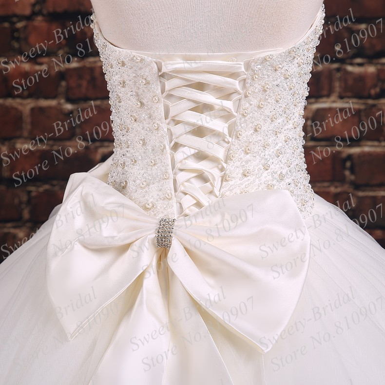 2015 new princess strapless ball gown wedding dresses for Wedding dresses with lace up back