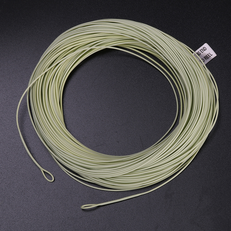 High Quality Fly Fishing Line With Welded Loops Multy Size To Choose Weight Forward Floating Fly Line(China (Mainland))