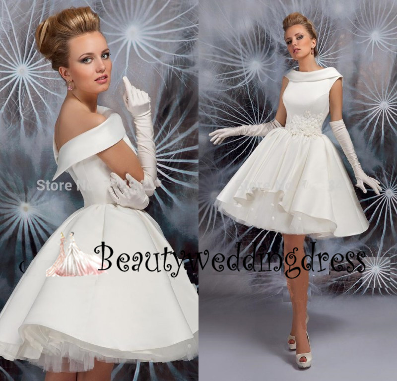 Wedding Dress Knee Length Vestidos De Noiva 2015 From China Online Store Fast Shipping(China (Mainland))