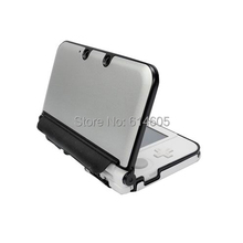 Silver Anti-shock Hard Aluminum Metal Box Cover Case Shell for Nintendo 3DS XL/ 3DS LL