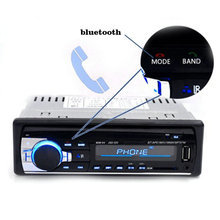 12v 24v Car Audio Built-In Bluetooth In-Dash Mp3 Player Wireless Fm Transmitter Usb / Sd / Mmc Card Reader (China (Mainland))