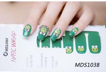 100pcs Hot Melodi Nail Stickers Cartoon Bow Designs Nail Tips Wraps DIY Nail Patch Art Decoration