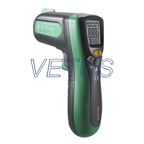 Digital Infrared Thermometer ,10:1 Dual LCD Display Infrared Thermometer MS6520B free shipping<br><br>Aliexpress