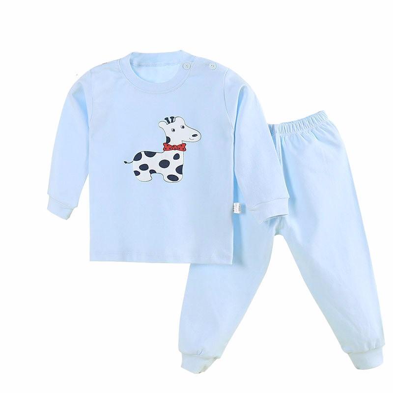 2PCS=SET Kids T-shirt Boy White Girl Boys Long Sleeve Shirt Girls Top Black Children Tshirts Camiseta Infantil =KAY