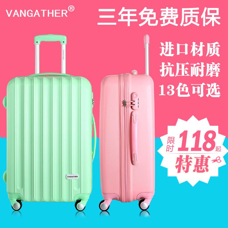 Vangather universal wheels trolley luggage travel bag 20 24 - Junan Trade Co., Ltd. store