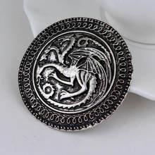 SG Moda Più Nuovi Monili Game of Thrones Serie Spille La Mano Del Re Spilla Accessori Per Gli Uomini E La Donna broche Regalo(China)