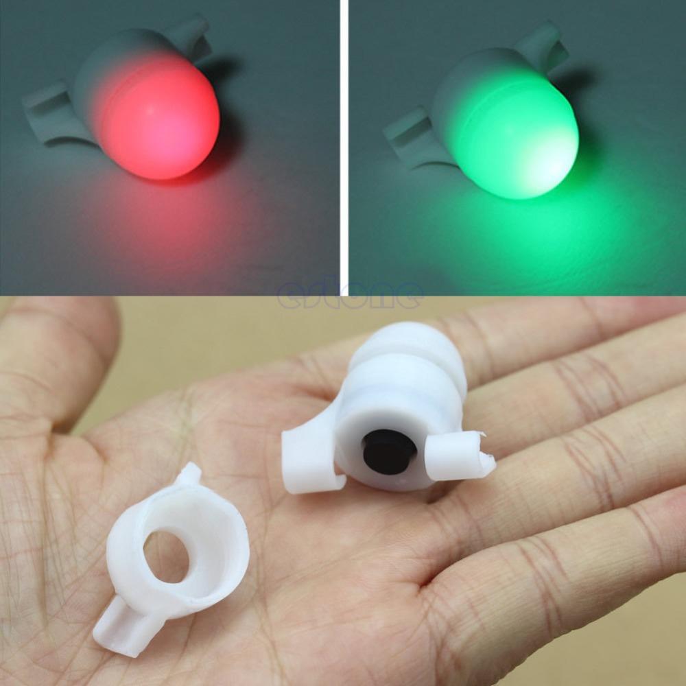 Free Shipping Sea Coarse Fishing LED Rod Tip Night Light Strike Alert Glow Stick Bite Alarm(China (Mainland))