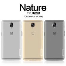 "Buy 10pcs/lot Wholesale NILLKIN Ultra Thin Transparent Nature TPU Case OnePlus 3/OnePlus3/A3000 (5.5"") TPU Hard Soft Back Cover for $49.52 in AliExpress store"