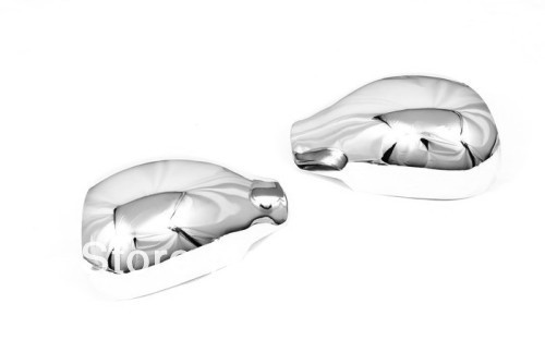 Car Styling Chrome Side Mirror Cover For Peugeot 206 / 206CC(China (Mainland))